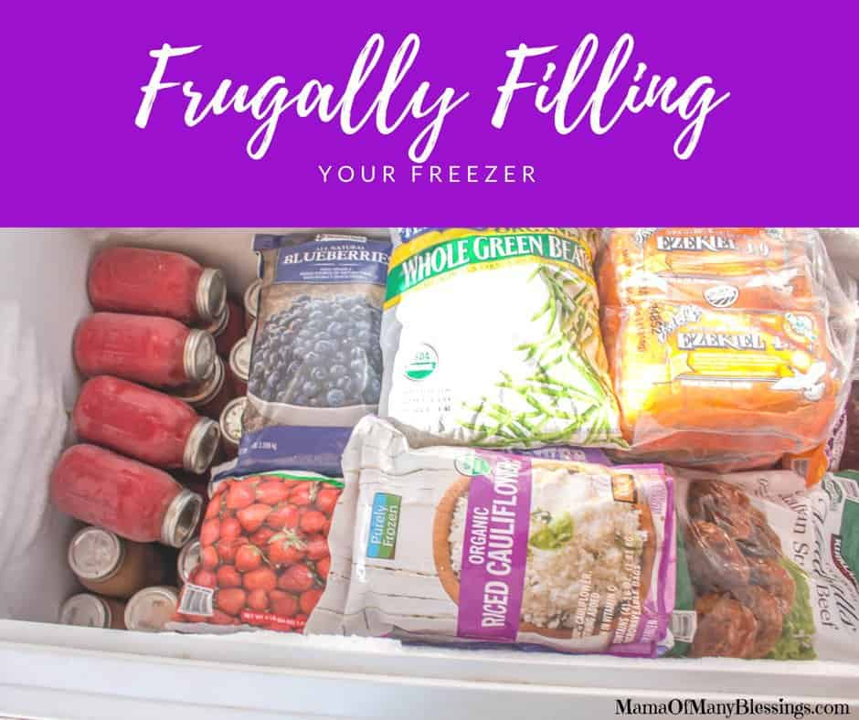 Frugally Filling Your Freezer Facebook