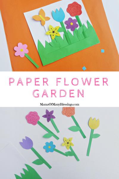 Paper Flower Garden Pinterest