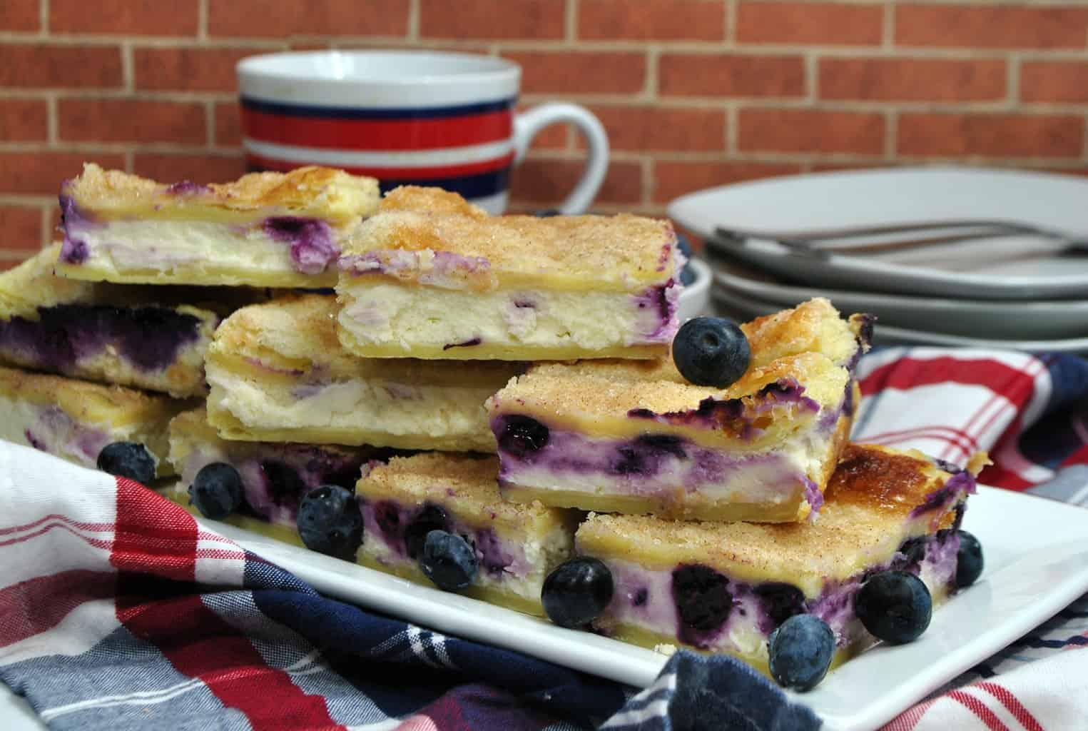 Mouthwatering Blueberry Cheesecake Bars