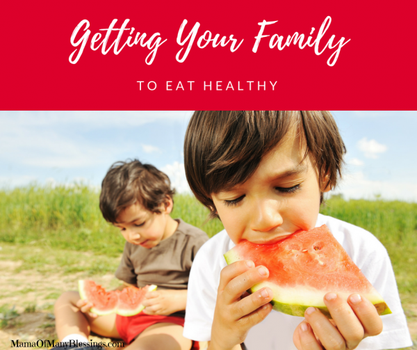 Tips For Getting Your Family To Eat Healthy Facebook