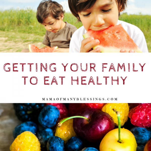 Tips For Getting Your Family To Eat Healthy Square