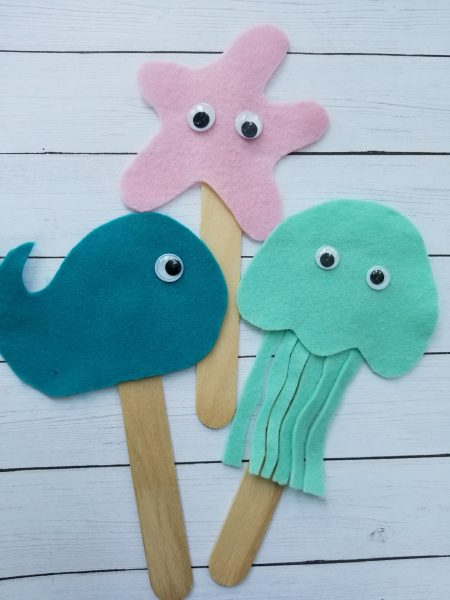 Sea Creatures Craft for Kids