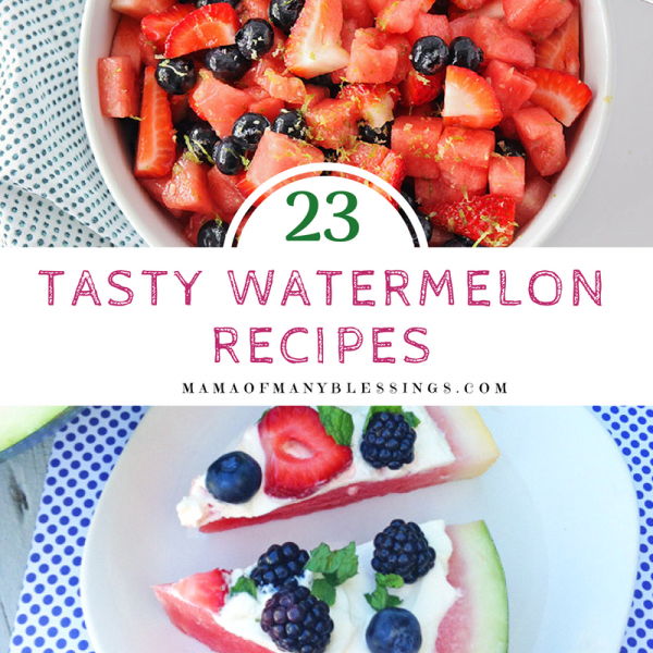 23 Tasty Watermelon Recipe Ideas Square