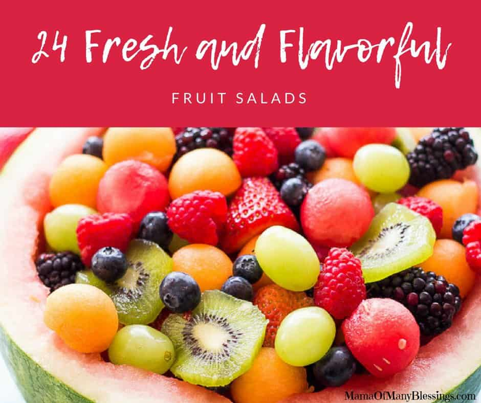 24 Fresh and Flavorful Fruit Salads Facebook
