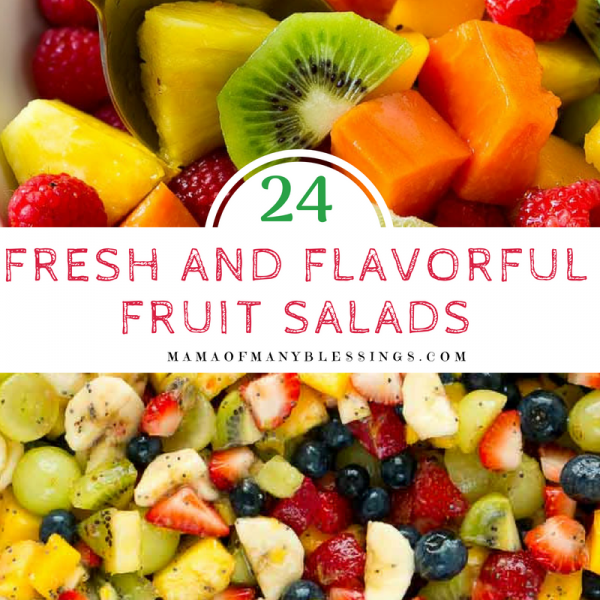 24 Fresh and Flavorful Fruit Salads Square