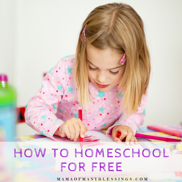 How To Homeschool For Free Square