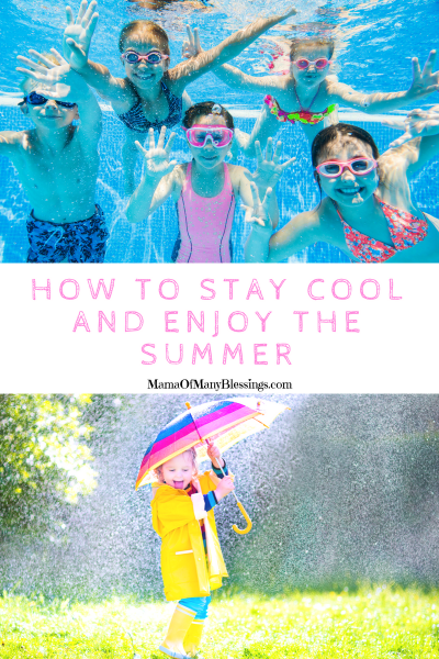 How To Stay Cool And Enjoy The Summer Collage