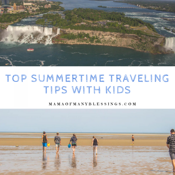 Top Summertime Traveling Tips With Kids Square