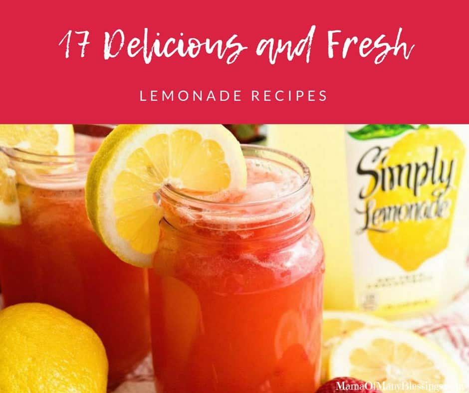 17 Delicious and Fresh Lemonade Recipes Facebook
