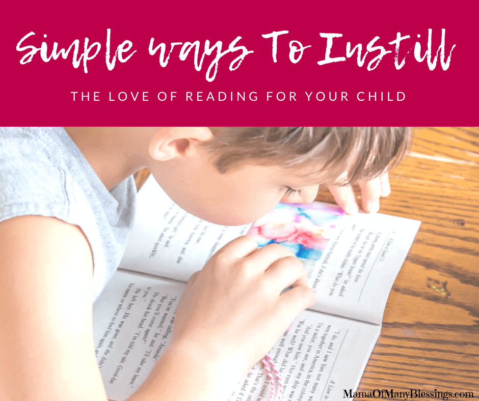 Simple Ways to Foster the Love of Reading for your Child Facebook