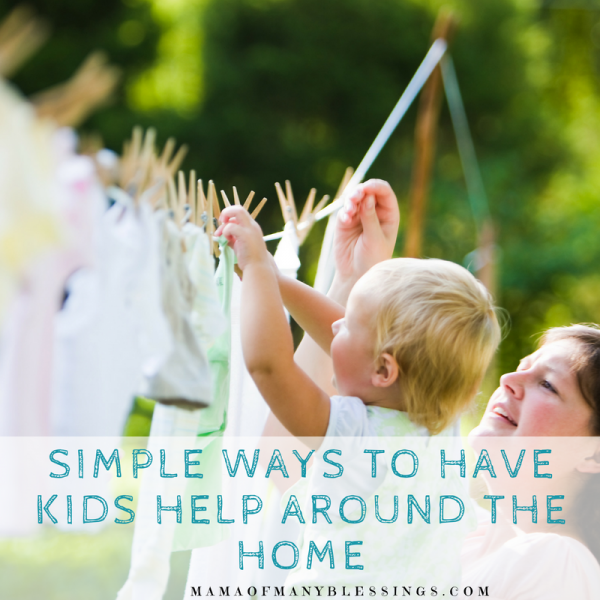 Simple Ways to Have Kids Help Around the Home Square