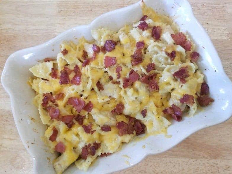 Instant Pot Chicken, Bacon, Ranch Casserole