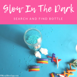 Glow In The Dark Search and Find Bottle