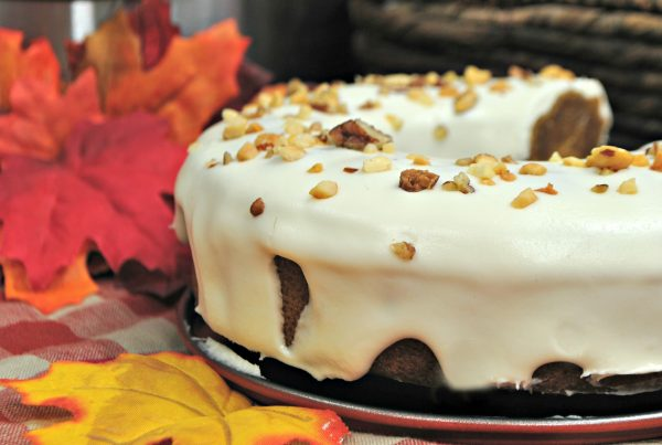 Instant Pot Apple Pumpkin Cake