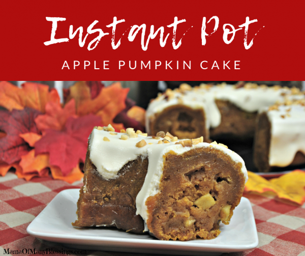 Instant Pot Apple Pumpkin Cake Facebook