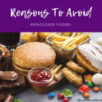 5 Reasons To Avoid Processed Foods
