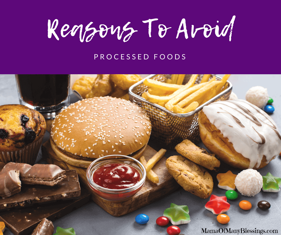 Reasons To Avoid Processed Foods Facebook