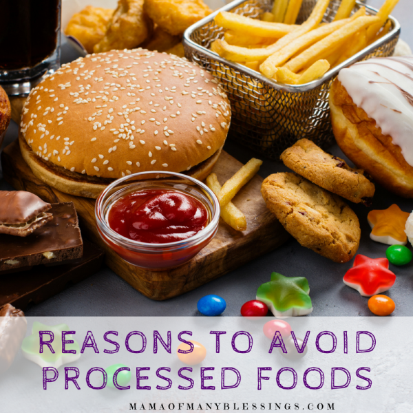 Reasons To Avoid Processed Foods Square