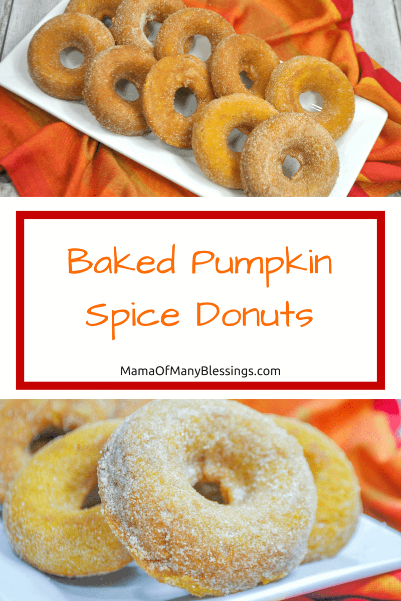 These delicious bakes pumpkin spice donuts are healthy, easy to make, and everyone will love them. Perfect for breakfast or your next fall party! 