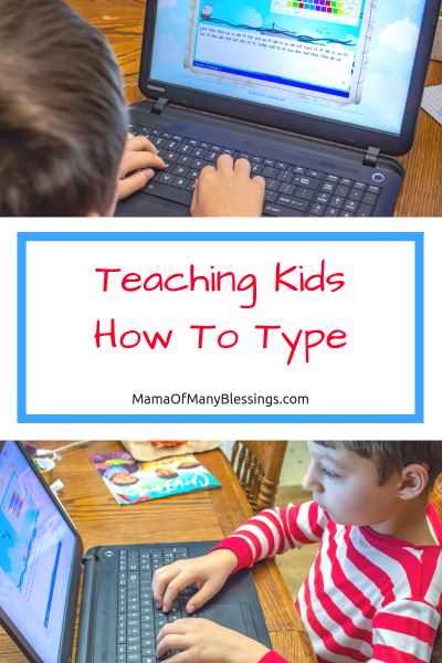 KidzType Teaching Kids How To Type Pinterest