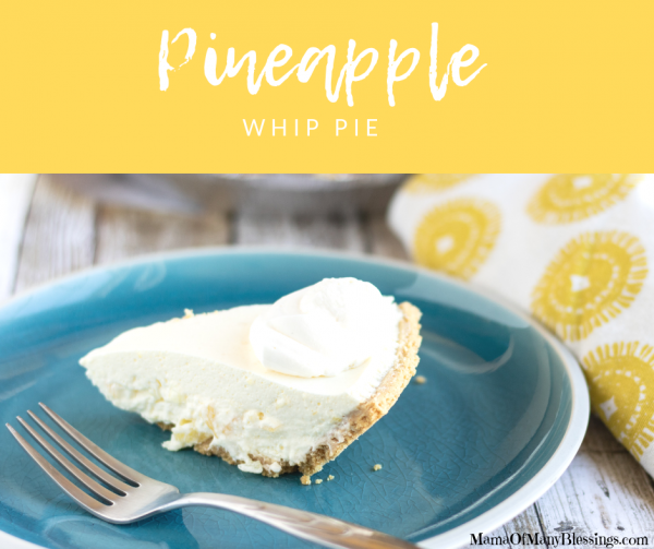 Pineapple Whip Pie Facebook