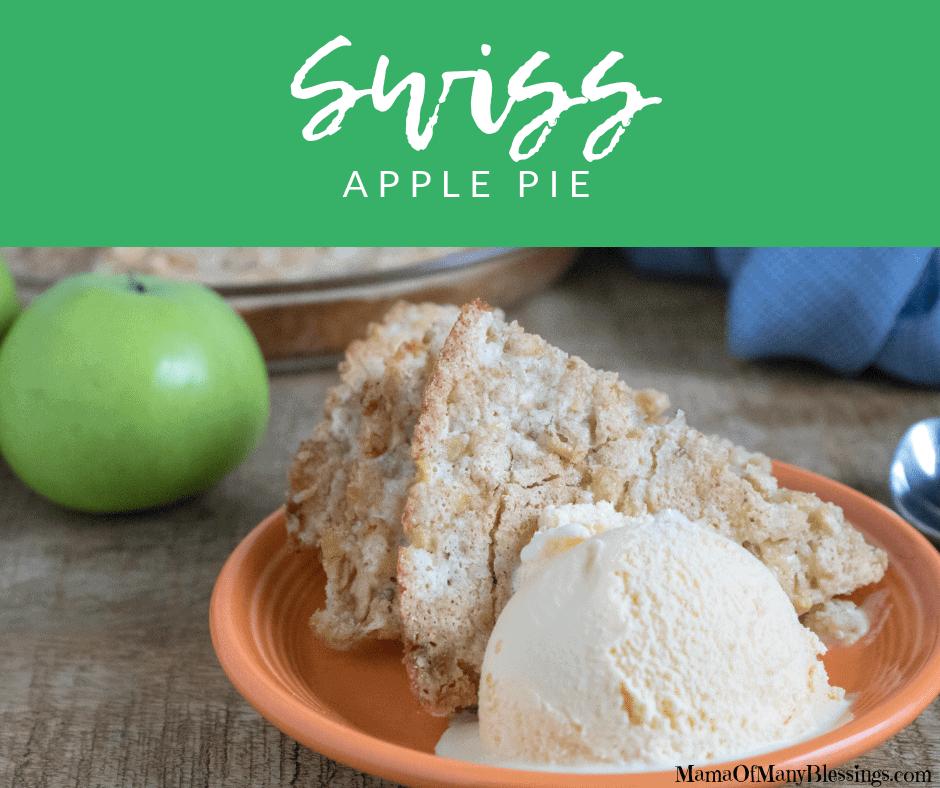 Swiss Apple Pie Facebook
