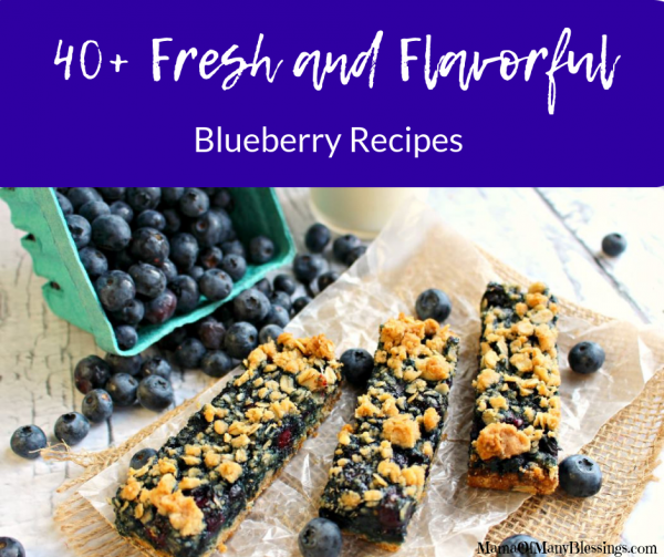 40+ Fresh and Flavorful Blueberry Recipes