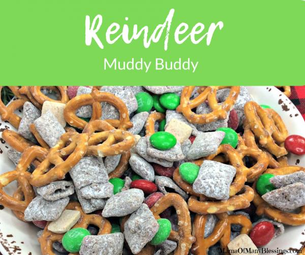 Reindeer Muddy Buddy