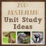 Australia Unit Study Ideas
